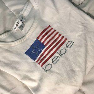 All American bebe shirt